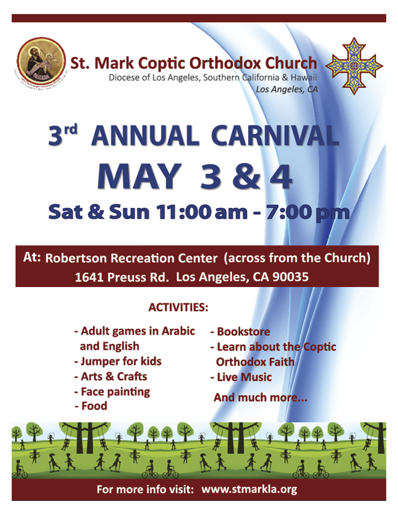St. Mark's 3rd Annual Carnival | May 3-4