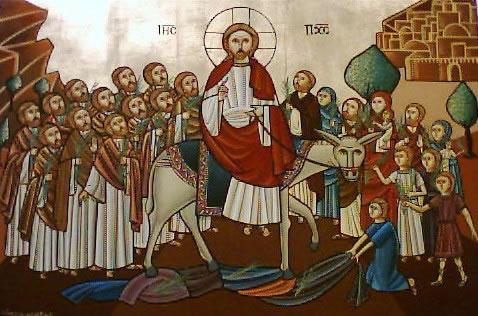Seventh Sunday Of Great Lent Palm Sunday St Mark Coptic
